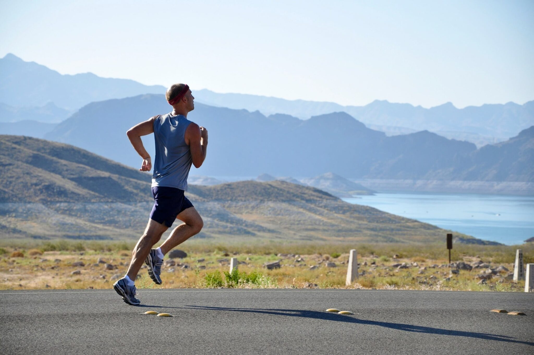 Bolton Marathon Running Man